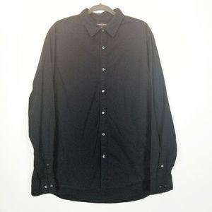 Michael Kors Trim Stretch Dress Shirt